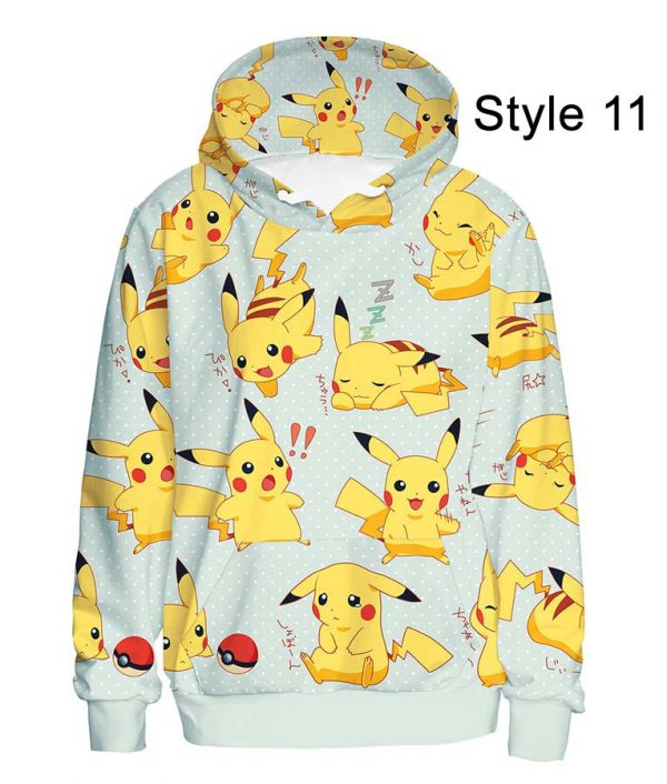 Pokémon Detective Pikachu Amazing Zipper Hoodie