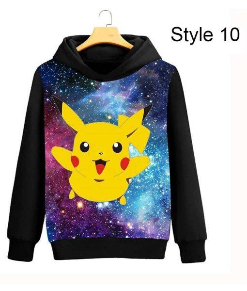 Pokémon Detective Pikachu New Zipper Hoodie