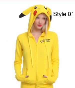 Detective Pikachu Zipper Hoodie
