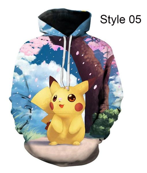 Pokémon Yellow Detective Pikachu Hoodie