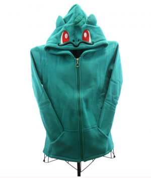 Pokemon Bulbasaur Green Hoodie