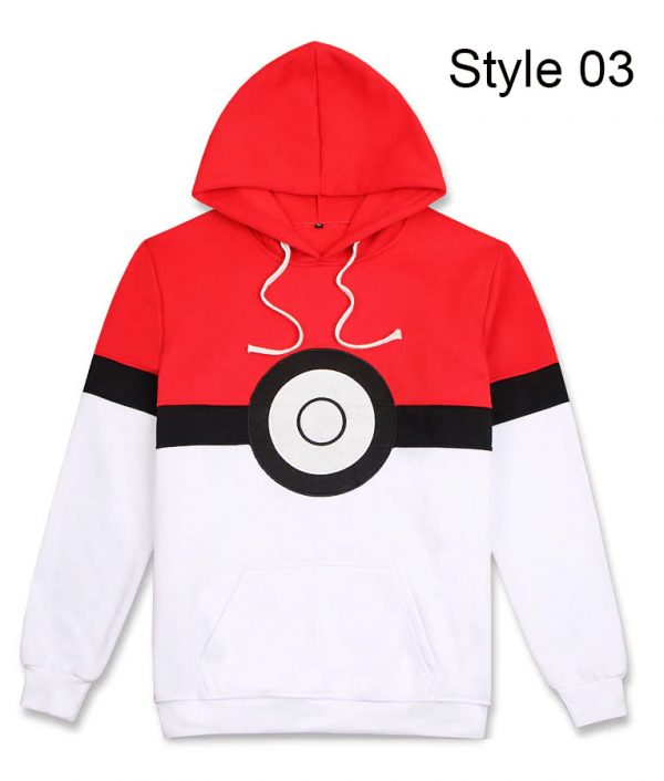 Pokemon Go Pokeball Cool Hoodie