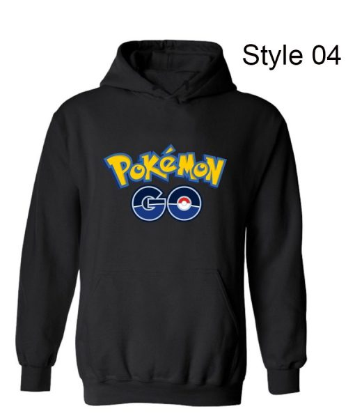 Pokemon Go Pokeball Grey Hoodie