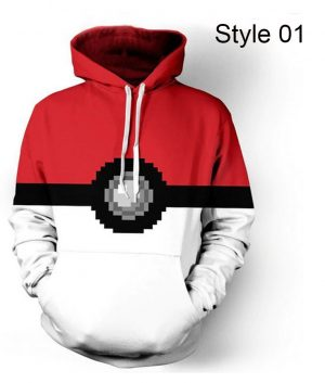 Pokemon Go Pokeball Amazing Hoodie