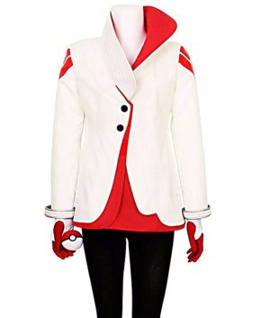 Pokemon Go Team Valor Candela Red and White Jacket