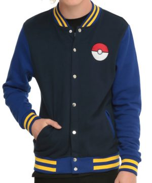 Pokemon Go Trainer Letterman Jacket