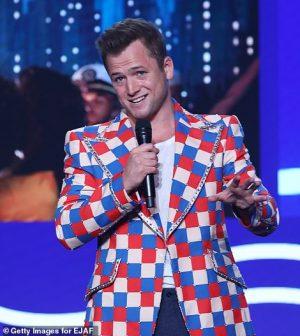 Rocketman Elton John Checked Blazer