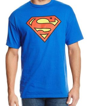 Superman Logo Blue T-Shirt