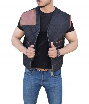 The Walking Dead David Morrissey Quilted Vest