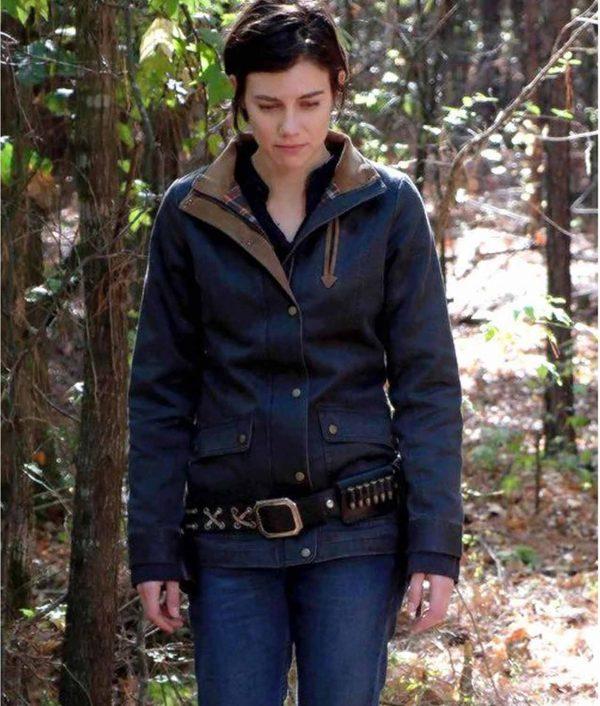 The Walking Dead Maggie Greene Cotton Field Jacket