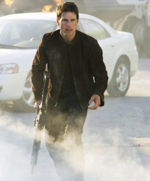 Ethan Hunt Mission Impossible 3 Tom Cruise Brown Suede Leather Jacket