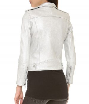 Willa Holland Arrow Biker Jacket