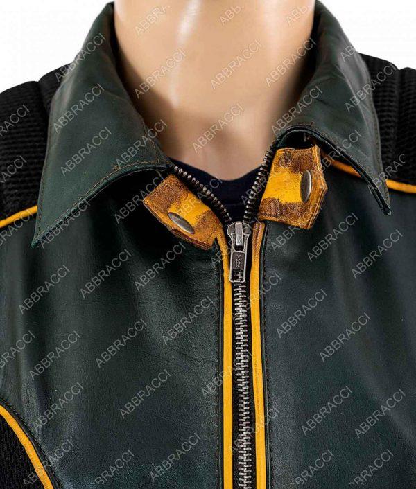 Arrow Season 08Katie Cassidy Black Canary Laurel Lance Leather Jacket