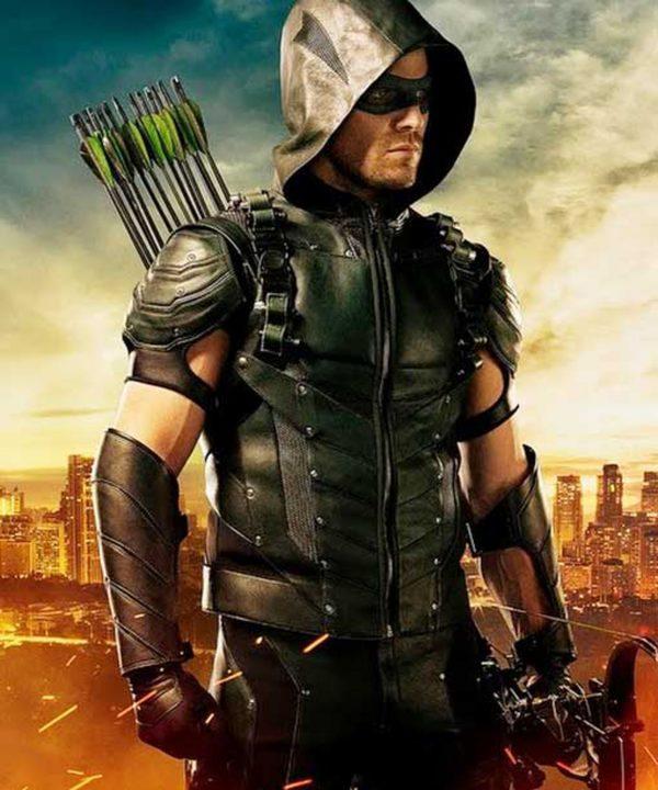Green Arrow Season 4 Vest