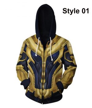 Avengers Endgame Thanos Stylish Hoodie