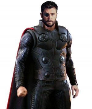 Avengers Infinity War Thor Leather Vest