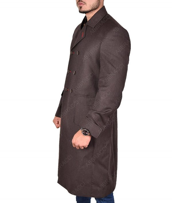 Sherlock Holmes Long Trench Coat