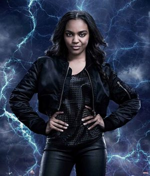 Black Lightning Jennifer Pierce Jacket