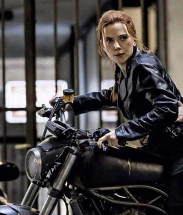 Black Widow 2020 Natasha Romanoff Jacket