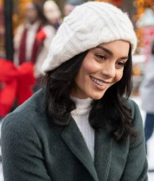 Vanessa Hudgens The Knight Before Christmas Brooke Trench Coat