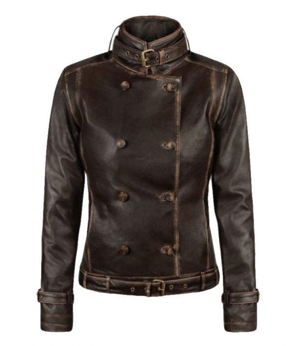 C.A The Winter Soldier Scarlett Johansson Brown Jacket