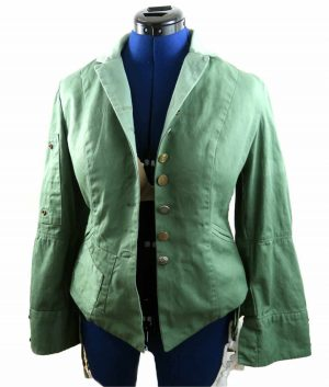 Captain America Civil War Wanda Maximoff Green Jacket