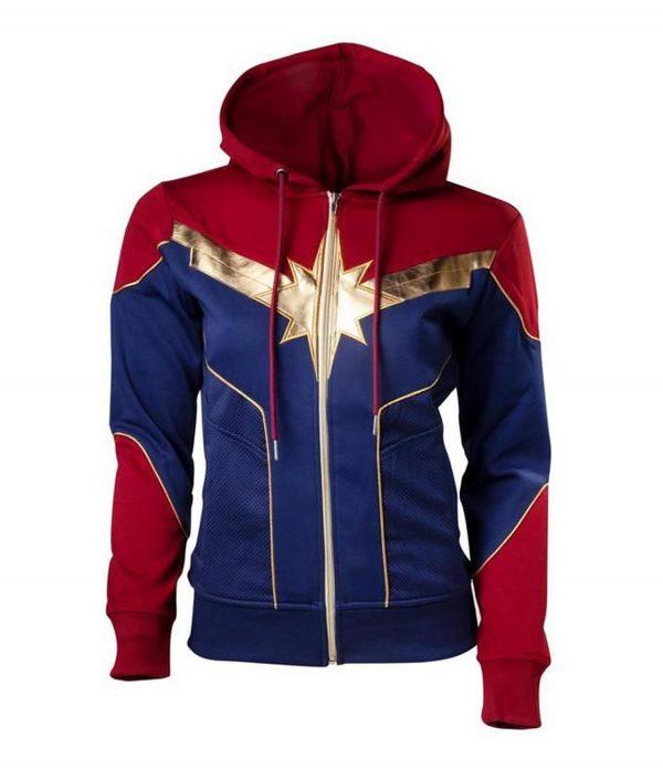 Captain Marvel Brie Larson Hoodie