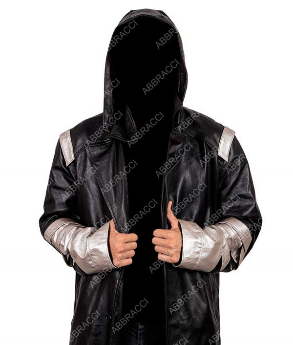 Chris Klein The Flash The Death Of Vibe Cicada Leather Coat