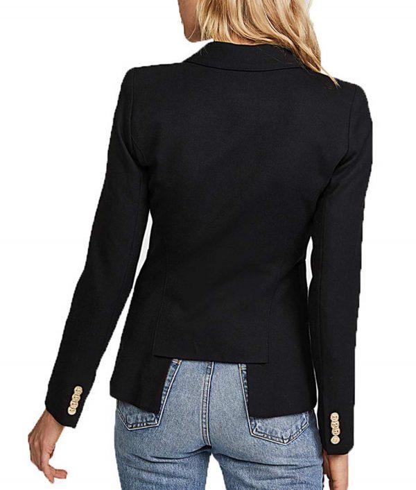 Arrow Wool Black Blazer
