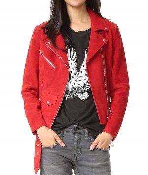 Emma Swan Suede Leather Jacket