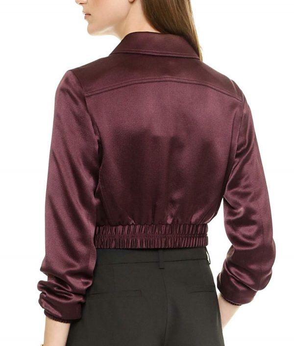 Felicity Arrow S5E16 Cropped Jacket