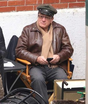 The Irishman Frank Sheeran Leather Jacket