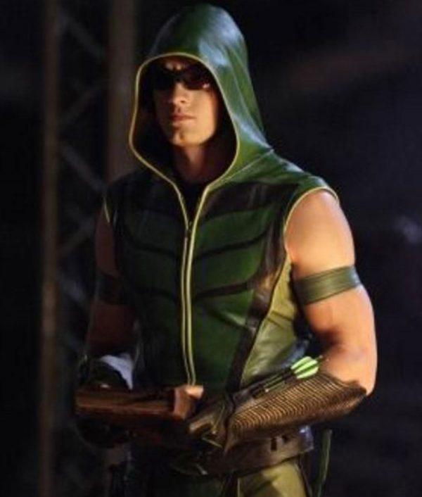 Green Arrow Smallville Vest