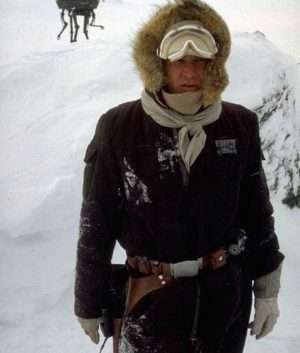 Han Solo Hoth Parka Brown Jacket
