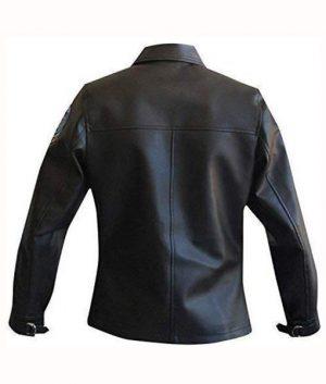 Top Gun Pilot Charlie Leather Jacket