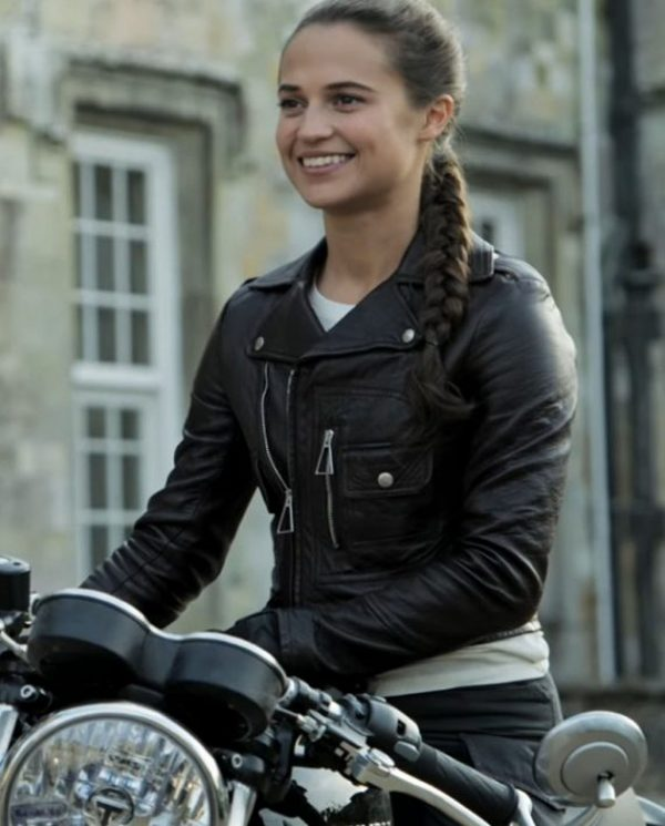 Tomb Raider Leather Jacket