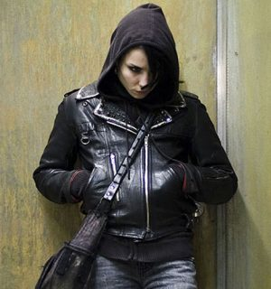 Rooney Mara The Girl With The Dragon Tattoo Black Leather Jacket