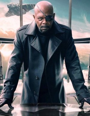 Nick Fury Avengers Coat