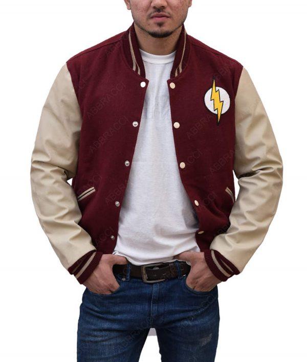 The Flash Varsity Jacket