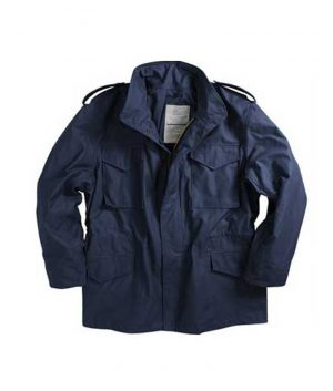 Rocky Balboa Creed Sylvester Stallone Blue M-65 Cotton Jacket