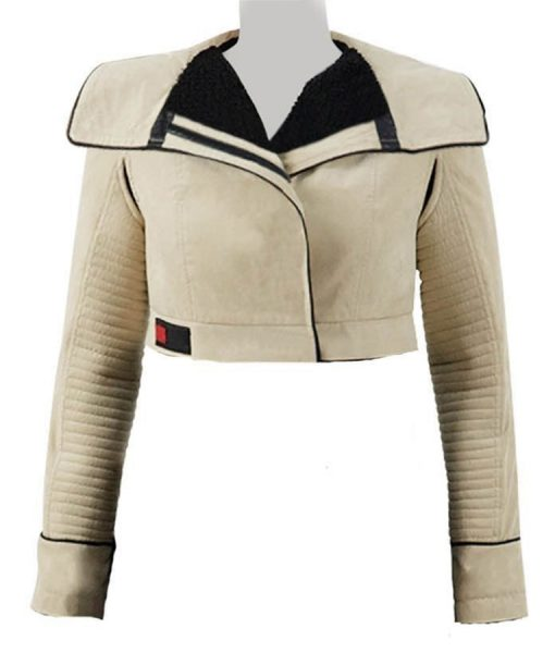 Solo A Star Wars Story Emilia Clarke Qi'ra Leather Jacket