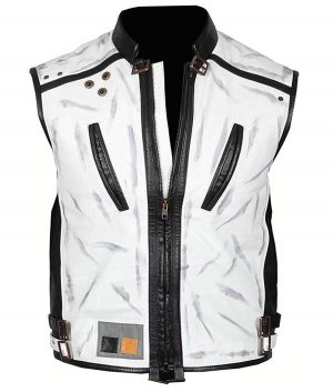 Alden Ehrenreich Han Solo Star Wars Story White Leather Vest