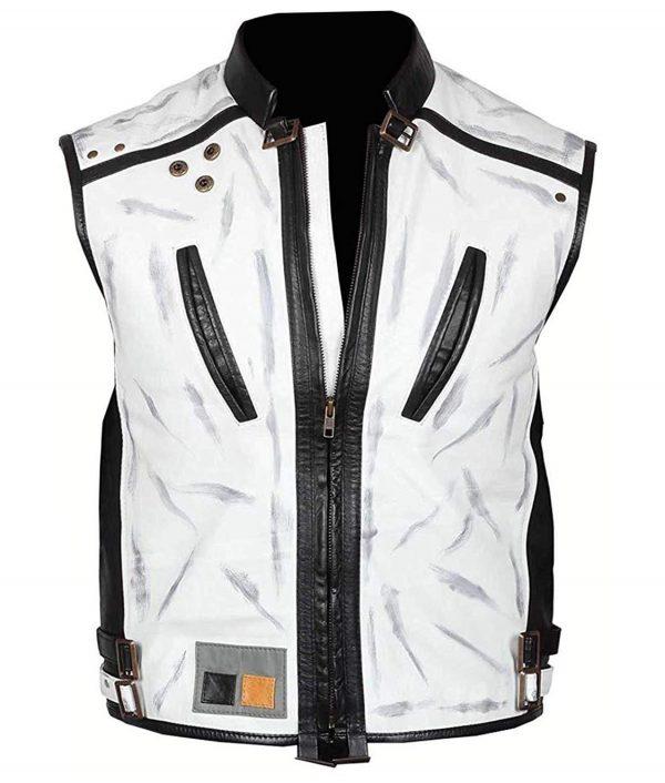 Alden Ehrenreich Han Solo Star Wars Story White Leather Vest