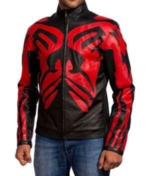 Star Wars Darth Maul Skin Leather Jacket