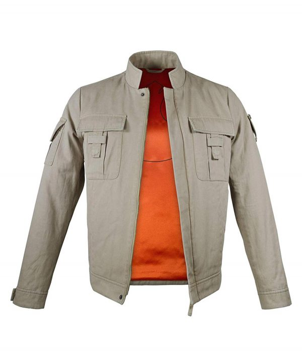 Mark Hamill Star Wars Empire Strikes Back Luke Skywalker Bespin Leather Jacket
