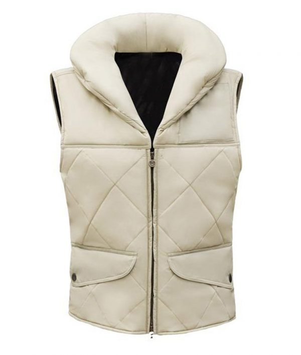 Star Wars Carrie Fisher Princess Leia Hoth Leather Vest