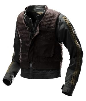 Star Wars Rogue One Felicity Jones Jyn Erso Jacket