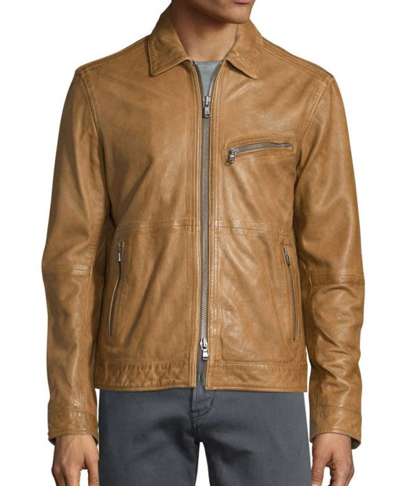 Oliver Brown Suede Leather Jacket