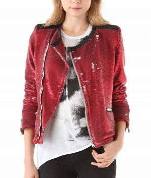 Taylor Swift Red Sequin Jacket