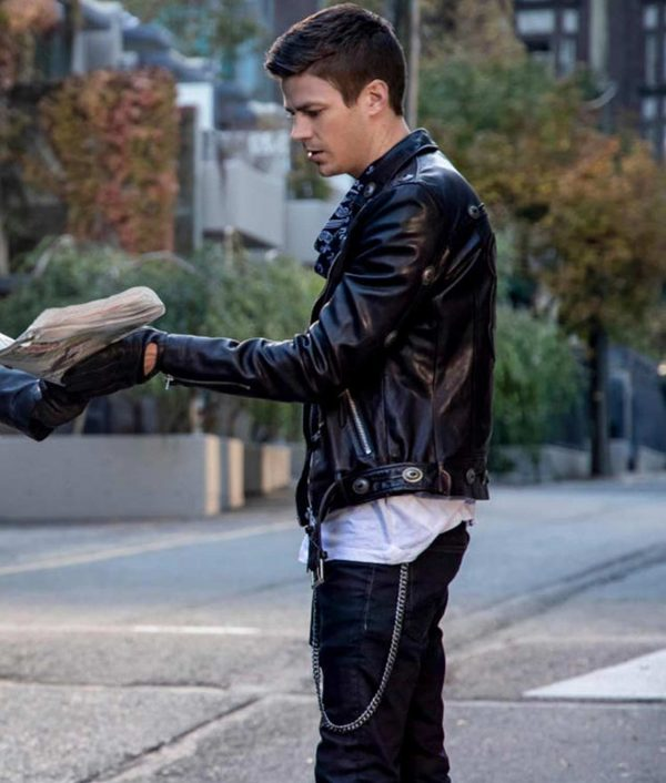 The Flash Elseworlds Barry Allen Motorcycles Jacket